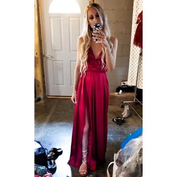 953054e2d26 White Fox Boutique Dresses | Wine Maxi Dress | Poshmark